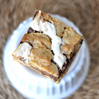 S'mores Cookie Bars.