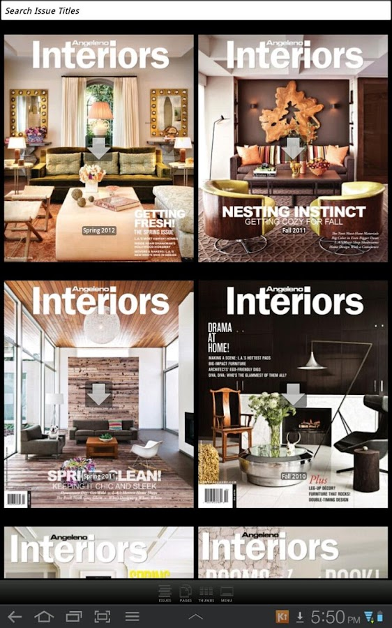 Angeleno Interiors - screenshot