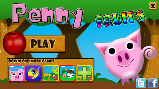 Penny Pig Catch the Fruits