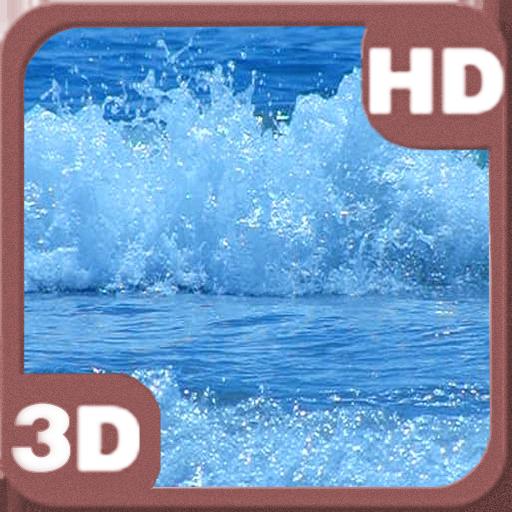 Mesmerizing Wavy Ocean 3D
