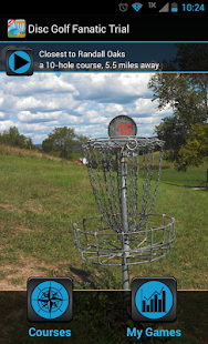 Disc Golf Fanatic Trial - screenshot thumbnail