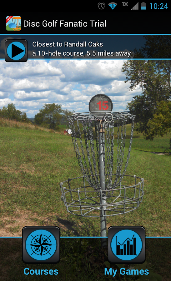 Disc Golf Fanatic Trial - screenshot