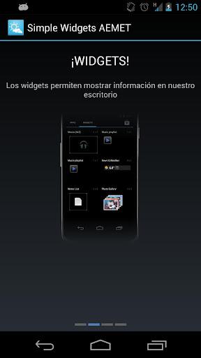 Simple Widgets METEO