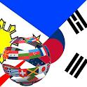 Learn Korean Tagalog icon
