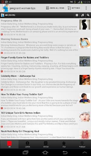 【免費書籍App】Pregnant Women Tips-APP點子