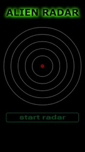 Alien Radar Simulator - screenshot thumbnail