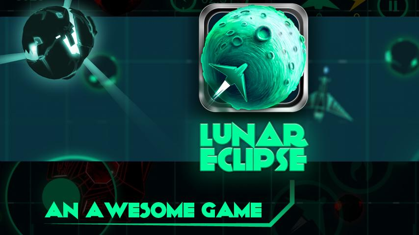 Lunar Eclipse - Asteroid game - screenshot