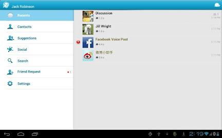 TalkBox Voice Messenger - PTT Screenshot 6