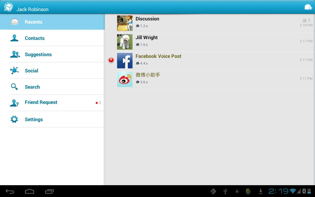 TalkBox Voice Messenger - PTT- screenshot