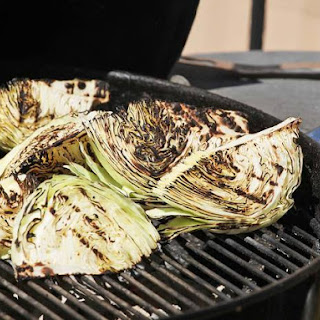 Grilled Cabbage with Blue Cheese Dressing Recipe