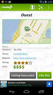 FeedMe (Restaurant finder)- screenshot thumbnail