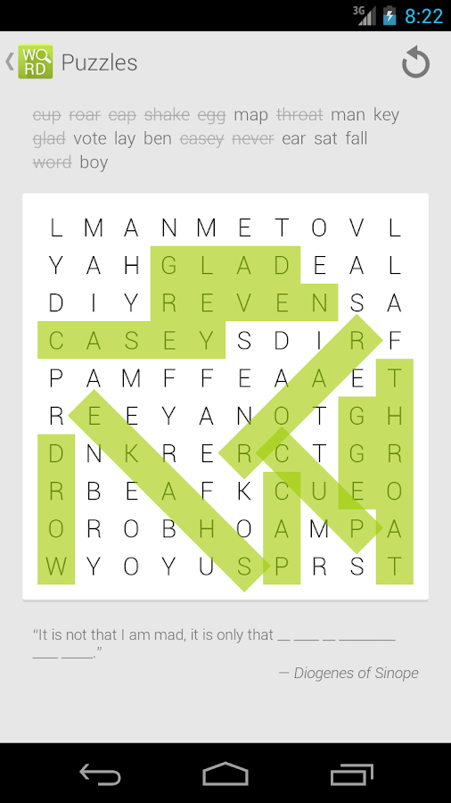 WordSeek- screenshot