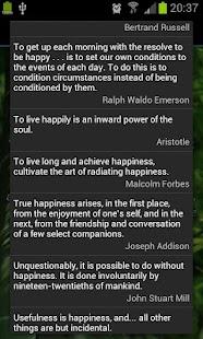 玩免費生活APP|下載Happiness Quotes app不用錢|硬是要APP