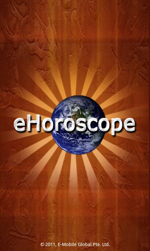 eHoroscope - screenshot