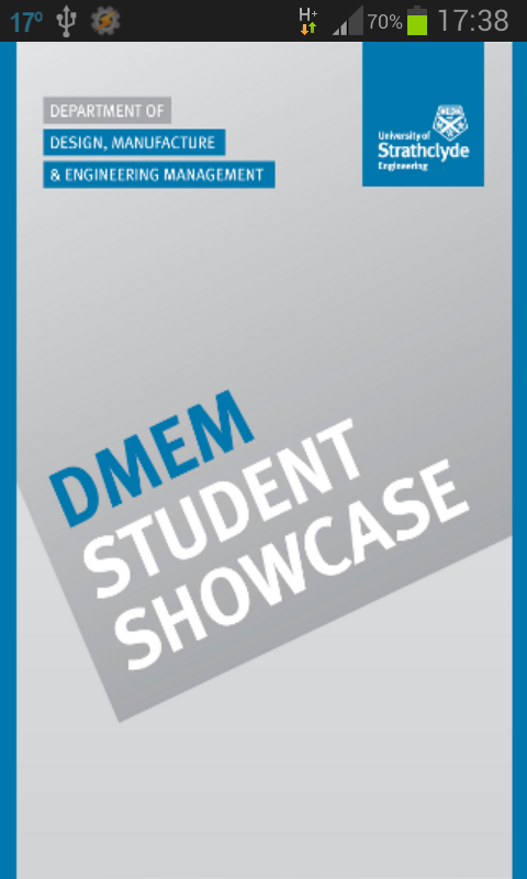 DMEM Student Showcase - screenshot