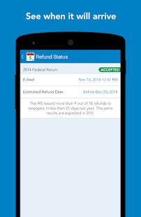 MyTaxRefund by TurboTax – Free - screenshot thumbnail
