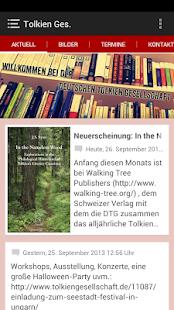 Deutsche Tolkien Gesellschaft - screenshot thumbnail