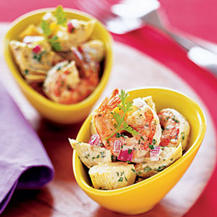 Shrimp-Artichoke Salad