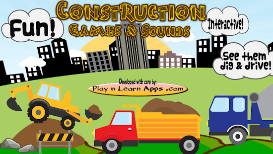 Construction Toddler Games