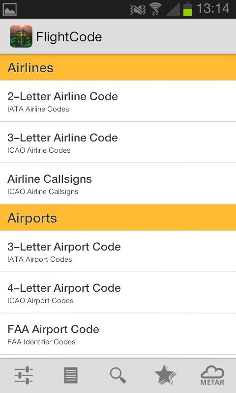 Flight Code - screenshot