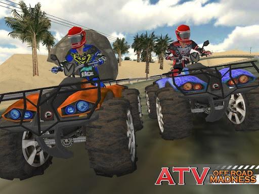 【免費賽車遊戲App】ATV OffRoad Madness-APP點子