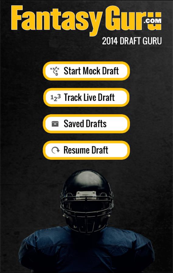 Draft Guru by FantasyGuru.com - screenshot