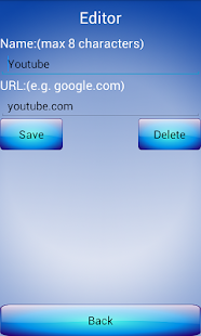 Simple URL BookMark - screenshot thumbnail