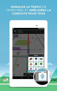 waze gps cartes trafic applications android sur google play