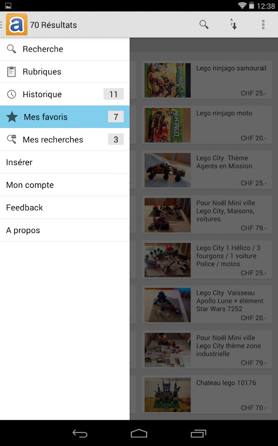 anibis.ch - Petites annonces - screenshot