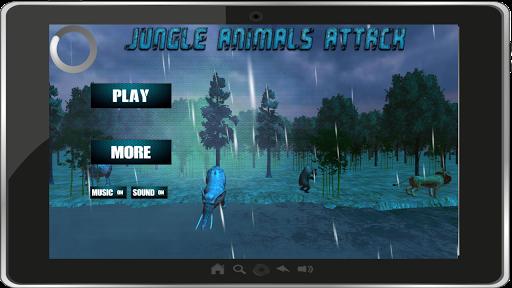 Jungle Animals Attack 3D