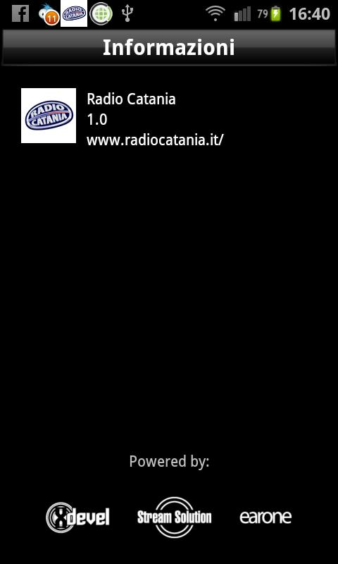 Radio Catania- screenshot