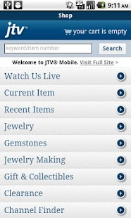 Jewelry Television - screenshot thumbnail
