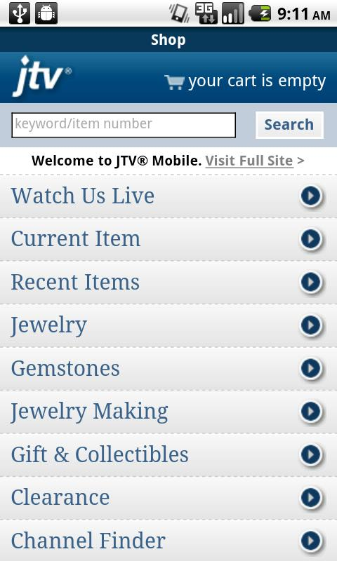 Jewelry Television - screenshot