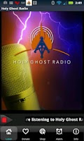 Screenshot of Holy Ghost Radio