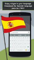 Screenshot of Spanish for ai.type Keyboard