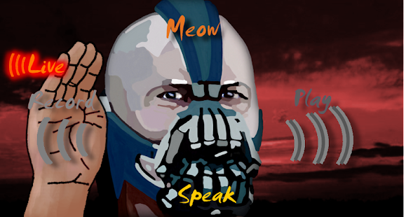 Bane Voice Changer BTVC Batman - screenshot thumbnail