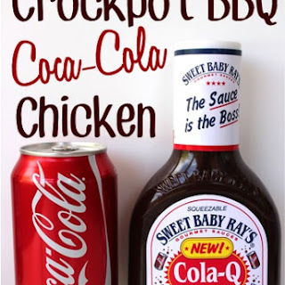 Crockpot BBQ Coca-Cola Chicken.