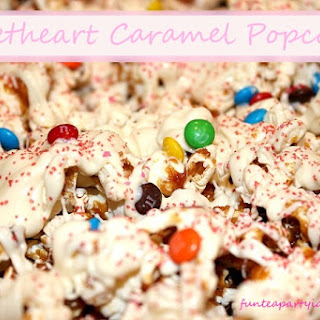 Sweetheart Caramel Corn