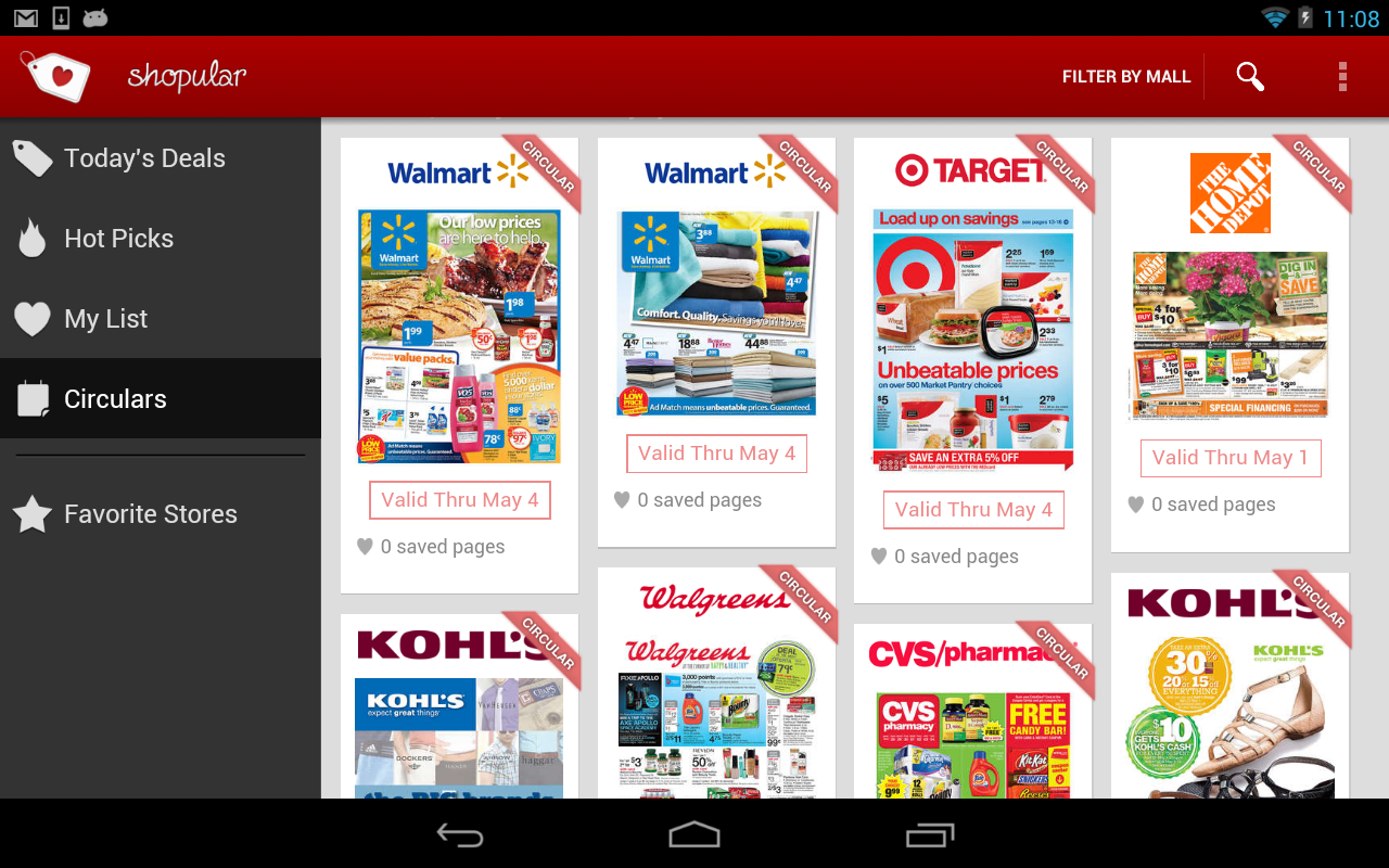 COUPONS & WEEKLY ADS -Shopular - screenshot