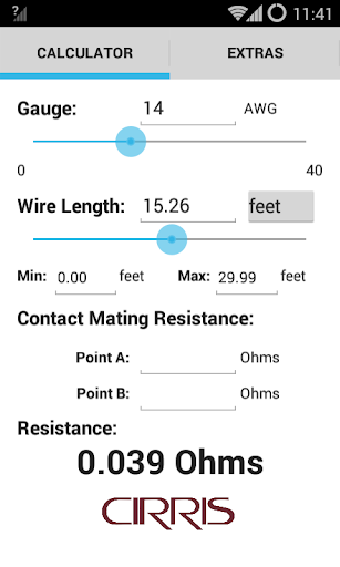 Download wire resistance calculator google play softwares wire resistance calculator wire resistance calculator greentooth Choice Image