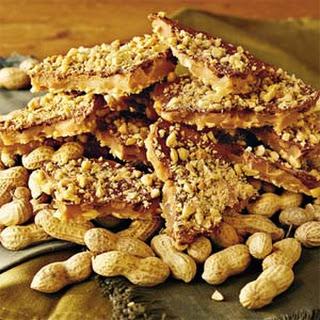 Microwave Peanut Toffee