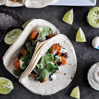 Smoky Sweet Potato and Black Bean Tacos