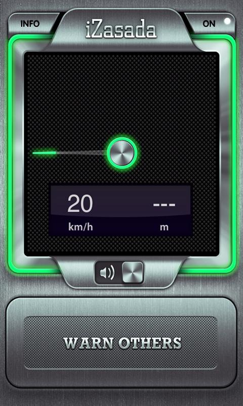 iZasada -SpeedCam Notification - screenshot