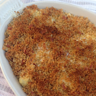 Bacon-y Cauliflower Gratin