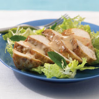 Grilled Chicken Satay Salad.
