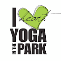 I Heart yoga in the park