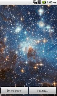 Zooming Cosmos Wallpaper Free- screenshot thumbnail
