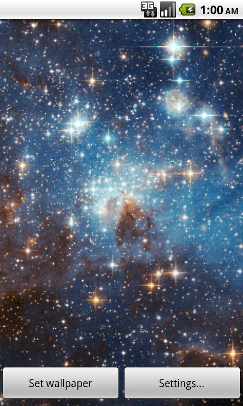 Zooming Cosmos Wallpaper Free- screenshot