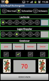 Schafkopf-Rechengenie - screenshot thumbnail
