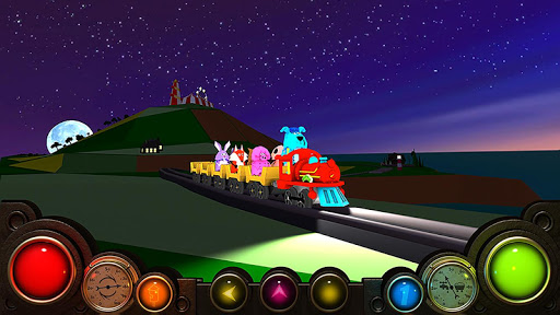Sunset Train 3D